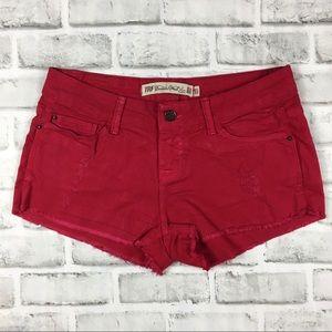 Zara TRF Premium Wash Jean Shorts